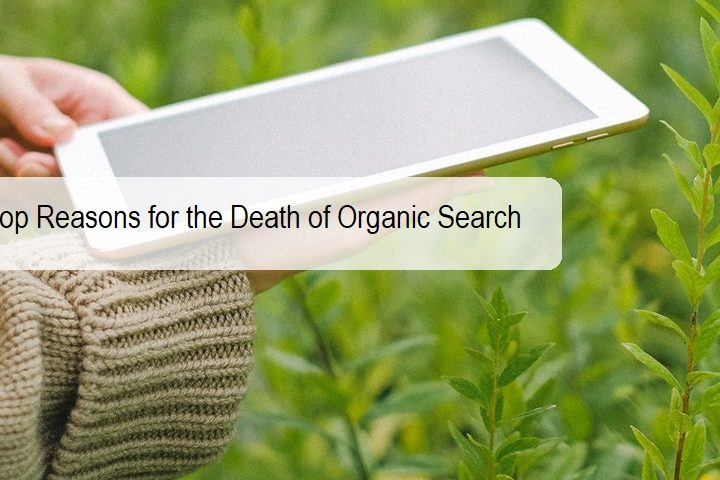 Top Reasons for the Death of Organic Search