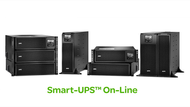 Online UPS – Increasing efficiency and reducing costs through the economical operation